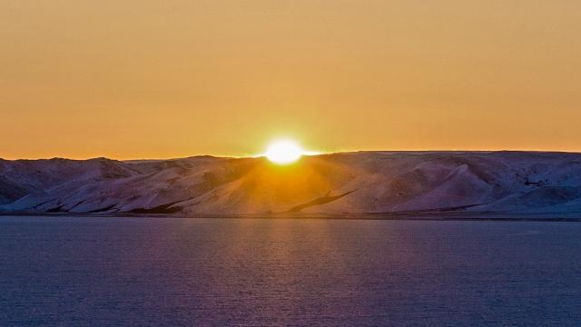 paulatuk-sunset